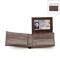 Kenneth Cole REACTION® Men's Brown Leather Fillmore Passcase Wallet