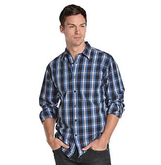 John Bartlett Consensus Men's Midnight Black Buttondown Shirt