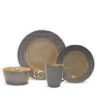Baum Trellis Grey 16-pc. Dinnerware Set