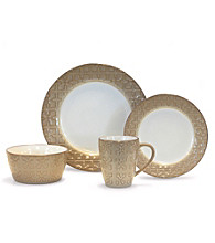 Baum Trellis Cream 16-pc. Dinnerware Set