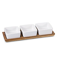 Baum Acacia Set of 3 Bowls with Tray