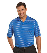 Reebok® Play Dry® Men's Big & Tall Stripe Golf Polo