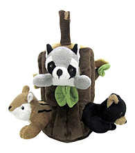 FouFou Dog™ Peek-a-Boo Tree Forest Friend Dog Toy