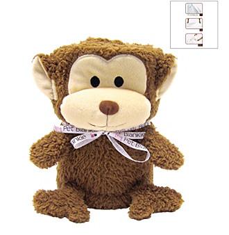 FouFou Dog™ My Pet Blankie Mookie the Monkey