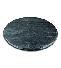 Fox Run Craftsmen® Black Marble Lazy Susan