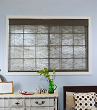 Nevada Oolong Roman Window Shade by Chicology®