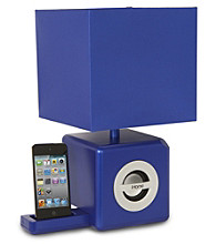 iHome® Light & Sound Lamp with Docking Station
