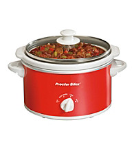 Proctor-Silex® 1.5-qt. Red Oval Slow Cooker