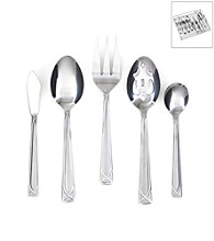 Cambridge Silversmiths Crossroads 45-pc. Flatware Set