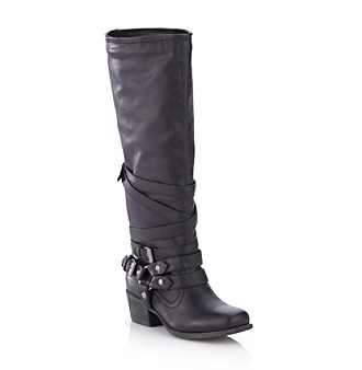 "Pink & Pepper ""Fab"" Knee-high Boot - Black"