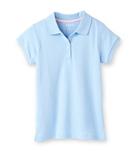Izod® Girls' 7-16 Light Blue Polo Shirt
