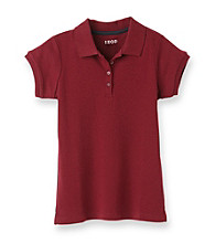 Izod® Girls' 7-16 Burgundy Polo Shirt
