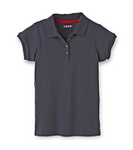 Izod® Girls' 7-16 Navy Polo Shirt