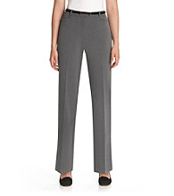 Briggs New York® Belted L-Pocket Pant