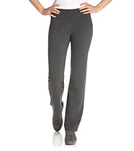 Calvin Klein Performance Ruched Waistband Slim Leg Pant