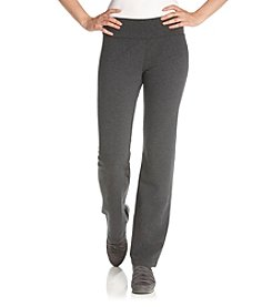 Calvin Klein Performance Ruched Waistband Slim Leg Pant