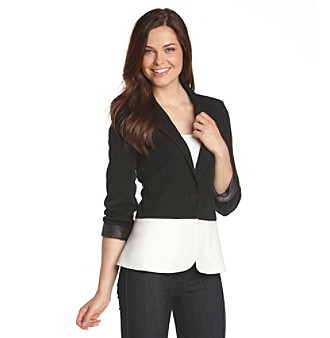 Black Rainn™ Colorblocked Blazer