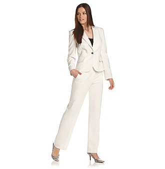 Calvin Klein One-Button Pant Suit