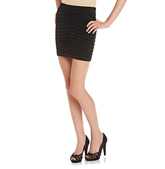 Sequin Hearts® Juniors' Sweater Body-Con Skirt