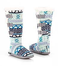 MUK LUKS® Side Vent Buckle Slipper Boots