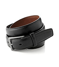 Perry Ellis Portfolio® Men's Black Sapphire Belt