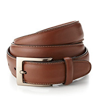 Perry Ellis Portfolio® Men's Brown Leather Belt