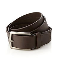 Perry Ellis Portfolio® Men's Chocolate Soft Tube Belt