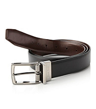 Perry Ellis Portfolio® Men's Black/Brown Reversible Belt