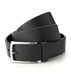 Perry Ellis Portfolio® Men's Black Tubular Belt