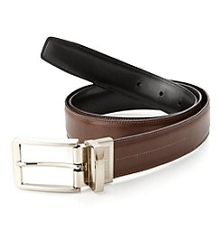 Perry Ellis Portfolio® Men's Luggage Black Reversible Belt