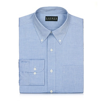 Lauren® Men's Blue Dress Shirt
