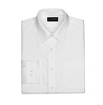 Lauren® Men's White Dress Shirt