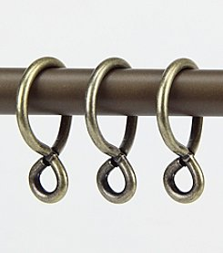 Rod Desyne Set of 10 Eyelet Rings - 1 in.