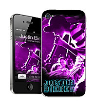 MusicSkins Bieber Sparkle for iPhone 4