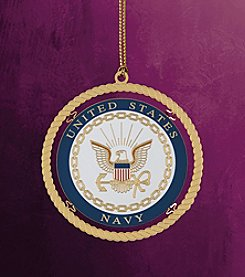 ChemArt Military Keepsakes Navy Christmas Ornament