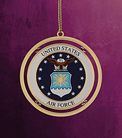 ChemArt Military Keepsakes Air Force Christmas Ornament