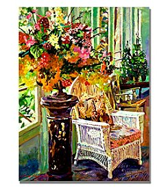 Trademark Fine Art Sun Room Framed Art by David Lloyd Glover