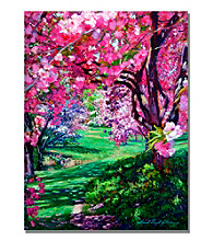 Sakura Romance Framed Art by David Lloyd Glover