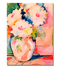 Henris Bouquet Framed Art by Shelia Golden