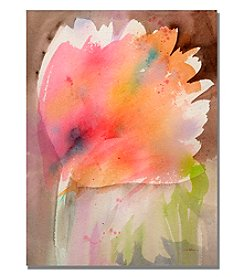 Trademark Fine Art Bloom Framed Art by Shelia Golden