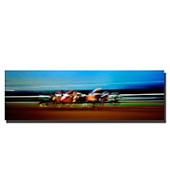 Trademark Fine Art Finish Line Framed Art by Preston