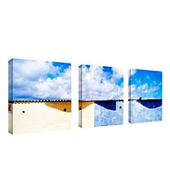 Trademark Fine Art Spain set of 3  Framed Art by Preston