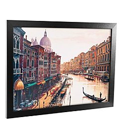 Hava, 'Venice' Canvas Framed Art