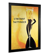 LInstant Taittinger Canvas Framed Art