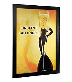 Trademark Fine Art Linstant Taittinger Canvas Framed Art