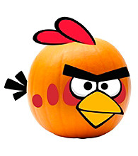 Angry Birds Bird Pumpkin Decoration Push ins
