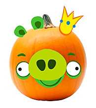 Angry Birds Pumpkin Decoration King Pig Push in