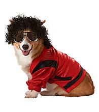 Pop King Pet Costume