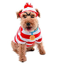 Where's Waldo Woof Pet Costume