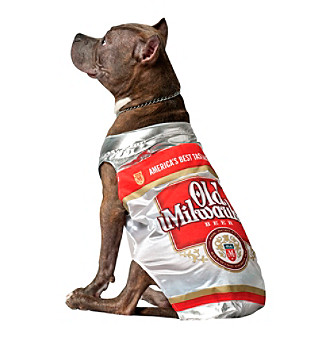Old Milwaukee Pet Costume